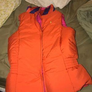 ralph lauren women's reversible puffer vest